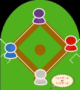 (サヨナラの場面)打者走者が適宜な時間を経過しても一塁に進もうとしない