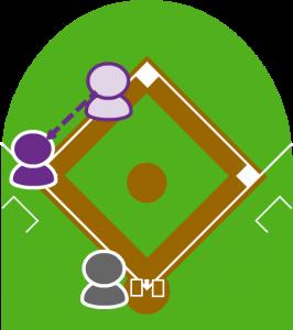 5.2塁走者は三塁セーフになった。