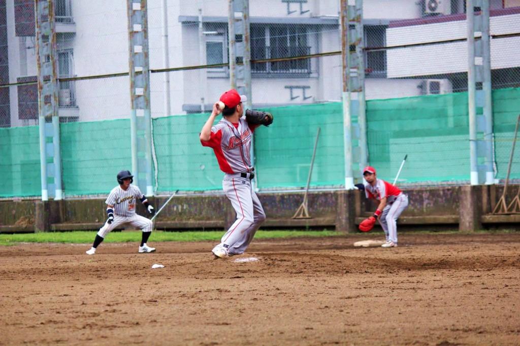 牽制 | 野球スコアを学習:G-SCORE