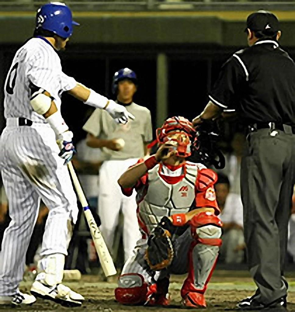 打撃妨害 | 野球スコアを学習:G-SCORE